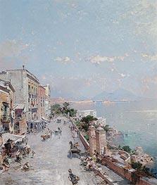 Unterberger | Posilipo, Naples | Giclée Canvas Print
