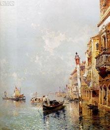 Unterberger | Canale della Giudecca | Giclée Canvas Print
