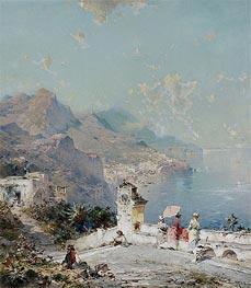Unterberger | Amalfi, Gulf of Salerno | Giclée Canvas Print