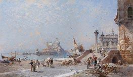 Unterberger | Piazetta St. Maggiore, Venice | Giclée Canvas Print