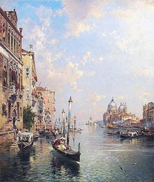 Unterberger | Grand Canal, Venice, undated | Giclée Canvas Print