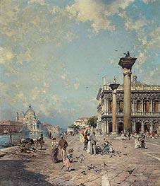 Unterberger | Piazza San Marco, Venice, c.1894/95 | Giclée Canvas Print