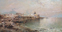Unterberger | Torre del Greco, Bay of Naples, undated | Giclée Canvas Print
