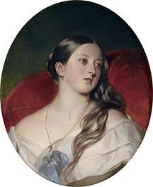 Franz Xavier Winterhalter | Queen Victoria, 1843 | Giclée Canvas Print