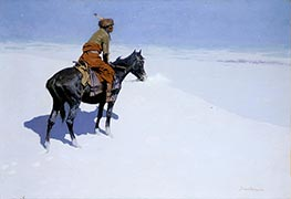 Frederic Remington | Friends or Foes? (The Scout), c.1902/05 | Giclée Canvas Print