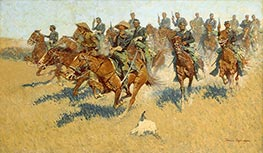 Frederic Remington | On the Southern Plains, 1907 | Giclée Canvas Print