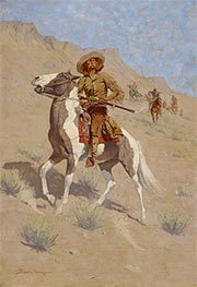 Frederic Remington | The Scout | Giclée Canvas Print