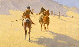Frederic Remington | The Parley, 1903 | Giclée Canvas Print