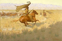 Frederic Remington | Horse Thieves | Giclée Canvas Print