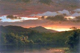 Frederic Edwin Church | Twilight (Catskill Mountain) | Giclée Canvas Print