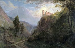 Frederic Edwin Church | The Monastery of San Pedro (Our Lady of the Snows), 1879 | Giclée Canvas Print