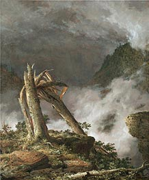 Frederic Edwin Church | Storm in the Mountains, 1847 | Giclée Canvas Print
