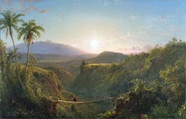 Frederic Edwin Church | Pichincha, 1867 | Giclée Canvas Print