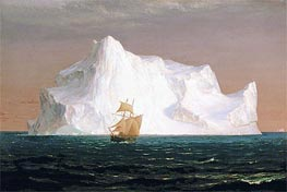 Frederic Edwin Church | The Iceberg, 1891 | Giclée Canvas Print
