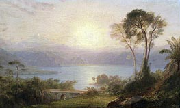 Frederic Edwin Church | Tropical Landscape, c.1882 | Giclée Canvas Print