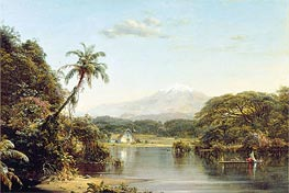Frederic Edwin Church | View on the Magdalena River, 1857 | Giclée Canvas Print