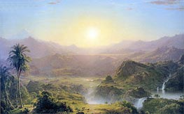 Frederic Edwin Church | The Andes of Ecuador, 1855 | Giclée Canvas Print