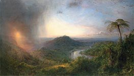 Frederic Edwin Church | Vale of St. Thomas, Jamaica, 1867 | Giclée Canvas Print