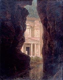 Frederic Edwin Church | El Khasne, Petra, 1874 | Giclée Canvas Print