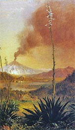 Frederic Edwin Church | Cotopaxi, undated | Giclée Canvas Print