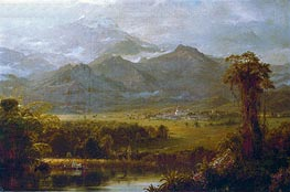 Frederic Edwin Church | The Mountains of Ecuador, 1855 | Giclée Canvas Print
