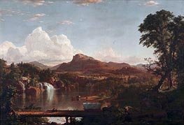 Frederic Edwin Church | Scene in the Catskills, 1851 | Giclée Canvas Print
