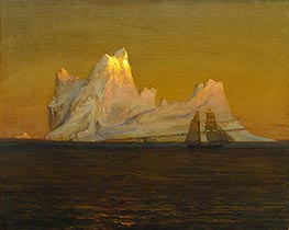 Frederic Edwin Church | The Iceberg, c.1875 | Giclée Canvas Print