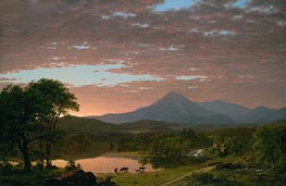 Frederic Edwin Church | Mountain Ktaadn, 1853 | Giclée Canvas Print