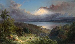 Frederic Edwin Church | View of Cotopaxi, 1867 | Giclée Canvas Print
