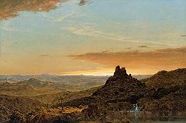 Cross in the Wilderness, 1857 by Frederic Edwin Church | Giclée Canvas Print