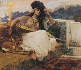 Frederick Arthur Bridgman | L'Indolence, 1889 | Giclée Canvas Print
