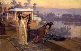 Frederick Arthur Bridgman | Cleopatra on the Terraces of Philae, 1896 | Giclée Canvas Print