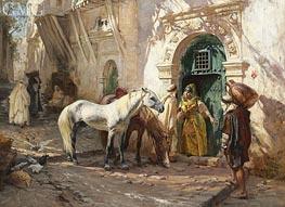 Frederick Arthur Bridgman | Scene in Morocco, 1885 | Giclée Canvas Print