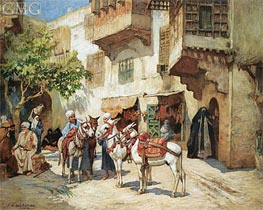 Frederick Arthur Bridgman | The Market Square, undated | Giclée Canvas Print