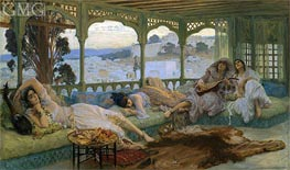 Frederick Arthur Bridgman | The Silence of the Night: Alger, b.1895 | Giclée Canvas Print