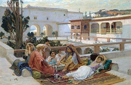 Frederick Arthur Bridgman | An Afternoon's Amusement, Undated | Giclée Canvas Print