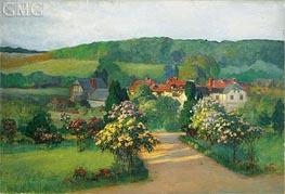 Frederick Arthur Bridgman | Garden in Blossom | Giclée Canvas Print