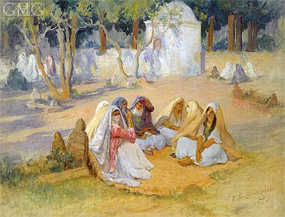 Algiers, 1920 | Frederick Arthur Bridgman | Painting Reproduction