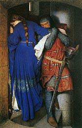 Frederick Burton | The Meeting on the Turret Stairs, 1864 | Giclée Canvas Print