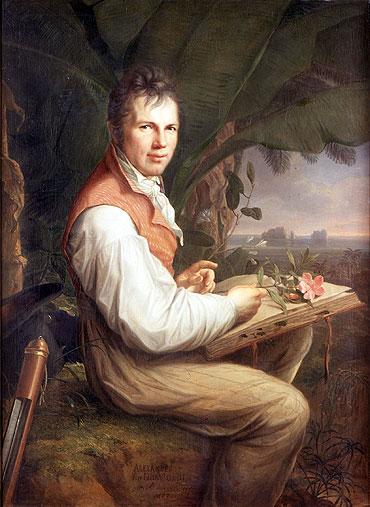 Portrait of Alexander von Humboldt, 1806 | Friedrich Georg Weitsch | Painting Reproduction