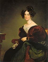 Friedrich von Amerling | Amalie Klein, geb. von Henikstein, 1834 | Giclée Canvas Print