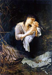 Gabriel Max | The Child Killer, 1877 | Giclée Canvas Print
