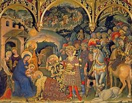 Gentile da Fabriano | Adoration of the Magi, 1423 | Giclée Canvas Print