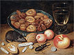 Flegel - Still Life with Chestnuts and Hazelnuts - Art Print / Posters