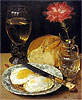 Flegel - Snack with Fried Eggs - Art Print / Posters