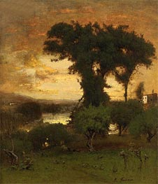 George Inness | Afterglow | Giclée Canvas Print