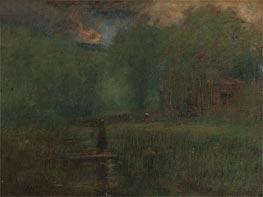 George Inness | Sundown | Giclée Canvas Print
