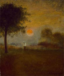 George Inness | Moonrise | Giclée Canvas Print