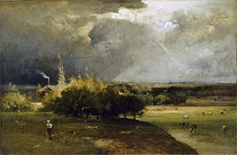 George Inness | The Coming Storm, c.1879 | Giclée Canvas Print