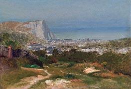 George Inness | Etretat, Undated | Giclée Canvas Print
